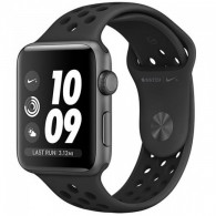 Apple Watch Nike+ Series 3 (GPS) 42mm Space Gray Aluminum (MQL42)