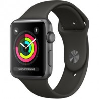 Apple Watch Series 3 (GPS) 42mm Space Gray Aluminum Gray Sport (MR362)