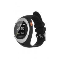Детские часы с GPS трекером ERGO Advanced Color A010 Siver