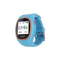 Детские часы с GPS трекером ERGO Junior Color J010 Blue