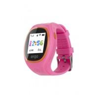 Детские часы с GPS трекером ERGO Junior Color J010 Pink