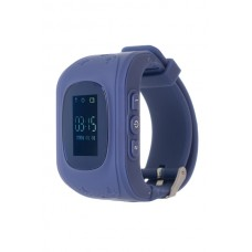 Детские часы с GPS трекером ERGO K010 Dark Blue